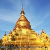 Pagoda de Kuthodaw foto de stock royalty free