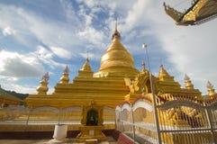 Pagoda de Kuthodaw Fotografia de Stock Royalty Free