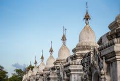 Pagoda de Kuthodaw Fotos de Stock