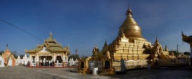 Pagoda de Kuthodaw, Mandalay, Myanmar images libres de droits