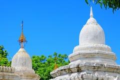 Pagoda de Kuthodaw, Mandalay, Myanmar photographie stock