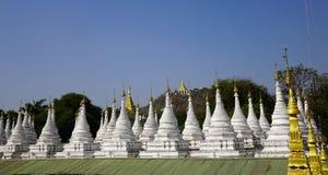 Pagoda de Kuthodaw ? Mandalay, Myanmar photos stock