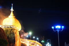 Pagoda de Kyaiktiyo Photo stock