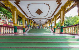 Pagoda de Kyauktawgyi Bouddha Photos stock