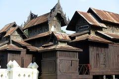 PAGODA DE L'ASIE MYANMAR NYAUNGSHWE Photographie stock