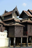 PAGODA DE L'ASIE MYANMAR NYAUNGSHWE Images libres de droits