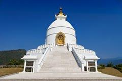 Pagoda de la paz Foto de archivo libre de regalías