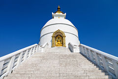 Pagoda de la paz Imagen de archivo libre de regalías