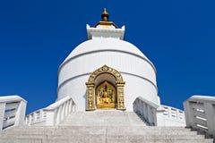 Pagoda de la paz Fotos de archivo libres de regalías