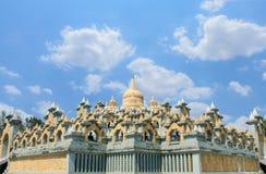 Pagoda de la piedra arenisca foto de archivo