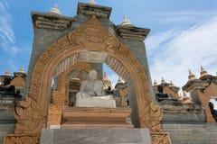 Pagoda de la piedra arenisca Imagen de archivo libre de regalías