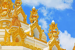 Pagoda de la reliquia del diente de Buda, Rangún, Myanmar Foto de archivo libre de regalías
