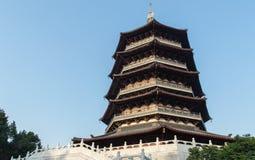 Pagoda de Leifeng Imagens de Stock