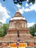 pagoda de los monumentos Fotos de archivo libres de regalías