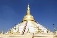 Pagoda de Mahazedi, bago, myanmar Fotografia de Stock Royalty Free
