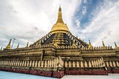 Pagoda de Mahazedi de la ciudad de Bago de Myanmar Imagen de archivo libre de regalías