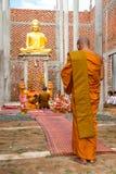 Pagoda de moine de montagne de PHNOM Oudong sur la montagne Photographie stock