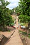 Pagoda de montagne de PHNOM Oudong sur la montagne Photo stock