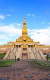 Pagoda de oro Imágenes de archivo libres de regalías