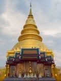 Pagoda de oro. imagen de archivo