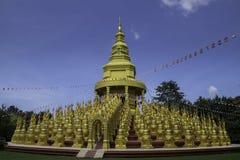 Pagoda de oro 500 Fotos de archivo