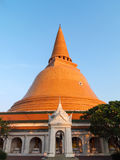 Pagoda de oro Foto de archivo libre de regalías