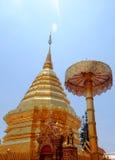 Pagoda de oro imagen de archivo libre de regalías