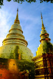 Pagoda de oro dos Foto de archivo