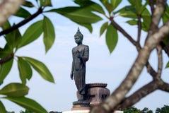 Pagoda de oro, Tailandia Fotos de archivo libres de regalías