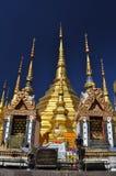 Pagoda de oro Tailandia de Baantak Imagenes de archivo