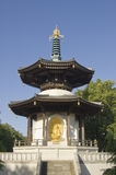 Pagoda de paix de stationnement de Battersea Photos stock