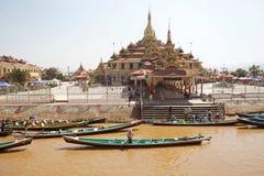 Pagoda de Phaung Daw Oo Photo stock