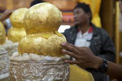 Pagoda de Phaung Daw Oo Imagen de archivo