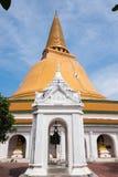 Pagoda de Phra Pathom, Nakhorn Pathom, Tailandia Foto de archivo