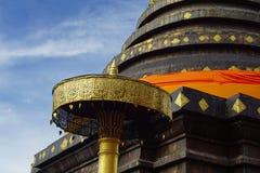 Pagoda de Pratat Lampang Luang, Thaïlande Photos libres de droits