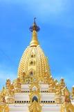 Pagoda de relique de dent de Bouddha, Yangon, Myanmar Photographie stock libre de droits