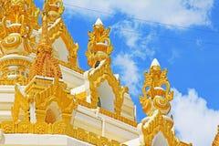 Pagoda de relique de dent de Bouddha, Yangon, Myanmar Photo libre de droits