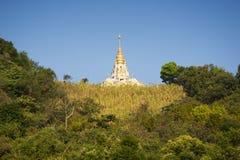 Pagoda de reliques de Bouddha de lieux de culte Photo stock