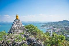 Pagoda de roche Photos stock