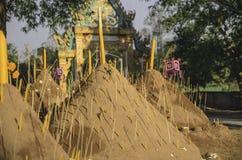 Pagoda de sable Image libre de droits