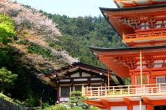 Pagoda de Sanjudo en Japón Imágenes de archivo libres de regalías