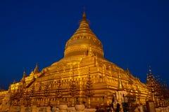 Pagoda de Schewzigon Foto de archivo