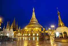 Pagoda de Schwedagon image stock