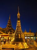 Pagoda de Shwedagon Photos stock