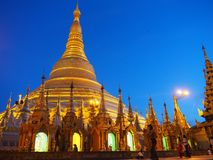 Pagoda de Shwedagon Imagem de Stock Royalty Free