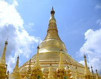 Pagoda de Shwedagon Fotos de Stock Royalty Free