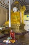 Pagoda 2 de Shwedagon Imágenes de archivo libres de regalías