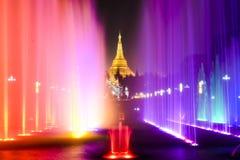 Pagoda de Shwedagon Photo stock