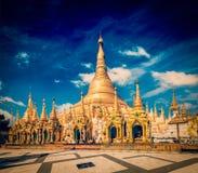 Pagoda de Shwedagon Fotografia de Stock