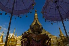 Pagoda de Shwedagon Imagem de Stock